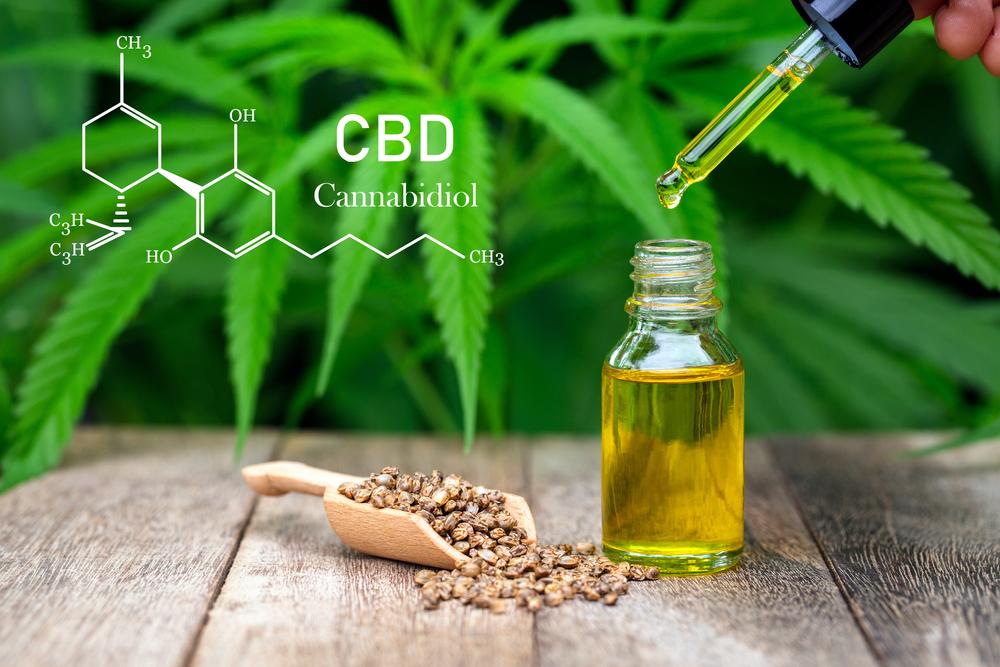 Cbd,Chemical,Formula,,Droplet,Dosing,A,Biological,And,Ecological,Hemp